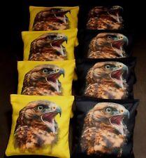 HAWK BIRD OF PREY 8 ACA Regulation Cornhole Bean Bags Patriotic B228