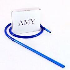 AMY Shisha Schlauch-Set mit Alu Mundstück | Silikon-Schlauch für Wasserpfeife