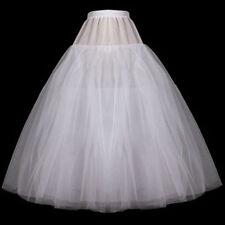 ohne ringe Reifrock weiß/ Schwarz A-line Brautkleid Tüllrock Unterrock Petticoat