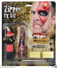 Disfraz de Halloween Diablo Deluxe Cremallera PERSONAJE Maquillaje aterrador