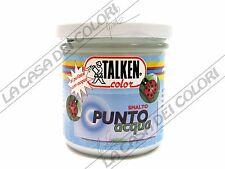 TALKEN - PUNTO ACQUA - 130 ml - SMALTO ALL'ACQUA - VARI COLORI - LUCIDO SATINATO