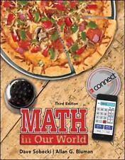 Math in Our World (Statistics) by Sobecki Professor, David, Bluman Professor Em