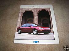 1998 Chevrolet Cavalier Z24 LS RS sales brochure dealer literature