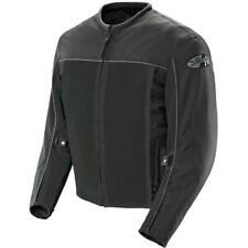 Joe Rocket Mens Velocity Black Mesh Motorcycle Riding Jacket