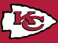 Kansas City Chiefs Football Logo Hockey Art Huge Giant Wall Print POSTER