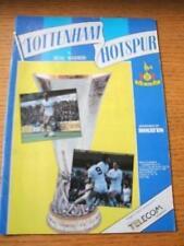 06/03/1985 Tottenham Hotspur v Real Madrid [UEFA Cup] (