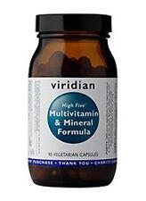 Viridian High Five Multivitamin & Mineral Formula Vegetarian Capsules