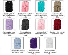 BRAND NEW Bambury Microplush unisex Bath Robe Dressing Gown