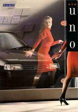 Fiat Uno 1990 UK Market Sales Brochure Turbo SX S Formula 70 60 45