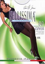 3 PAIA COLLANT DONNA BELLISSIMA COVER 50 DEN ELASTICIZZATO  NYLON VELATO OPACO