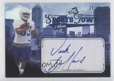2012 Press Pass Sports Town Edition Autographs Blue #STVB Vick Ballard Auto Card