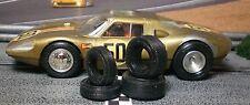 1/32 Urethane Slot Car Tires 2pr fit Vintage Monogram Porsche 904
