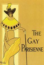 ART POSTER Coloré Le Gay parisienne art déco imprimé