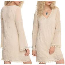 NEW BBC Orphan Black Helena Wedding Dress Cream Long Sleeve Hot Topic EXC. S-XL