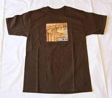 NEW O'NEILL T Shirt (Tee) T-Shirt 100% Authentic Brown-  Skate Skateboard & Surf