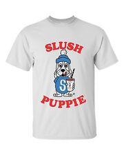 SLUSH PUPPIE LOGO T-SHIRT ICE CREAM GOOD HUMOR FLAVOR SMOOTHIE RETRO