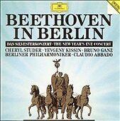 Beethoven in Berlin: The New Year's Eve Concert 1991 (CD, Mar-1992, DG..(cd4703)