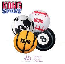 Kong Sport Balls in sports designs non-abrasive fabric - 3 sizes random designs
