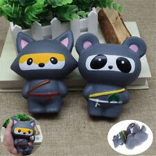 14CM Kawaii Squishy Animal Panda Fox Bread Soft Slow Rising Fun Toys Charm VN