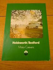 BEDFORD CF HOLDSWORTH Brochure jm