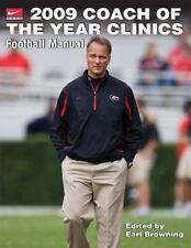 2009 Coach of the Year Clinics Football Manual
