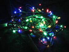100 Multi-Coloured 9 Twinkle LED Fairy Xmas Party Wedding Lights 4.9m  AUS stock