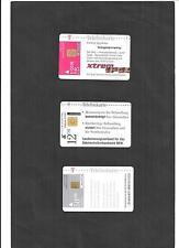 Historische Telefonkarten von 1998 - 1999, leer, gebraucht, zur Auswahl komplett