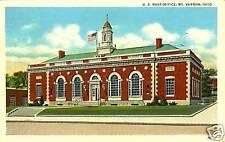 Mt. Vernon,OH.   The U.S. Post Office   1938