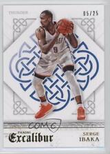 2015 Panini Excalibur Gold #27 Serge Ibaka Oklahoma City Thunder Basketball Card