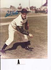 Bob Feller Auto/Signed 8x10 Photo Hof Cleveland Indians