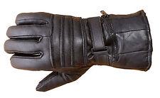 Mens Premium Sheep Leather Winter Motorcycle Biker Riding Gloves G10