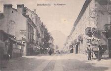Domodossola - Via Sempione 1912 - pubblicità MICHELIN