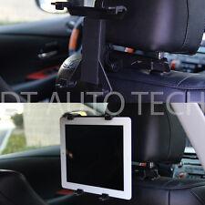 CAR SUV HEAD REST MOUNT HOLDER iPad 1 2 3 Tab Xoom Galaxy TABLET Universal Fit