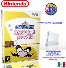 WARIO WARE SMOOTH MOVES Wii ITALIANO NINTENDO NUOVO ITA PRIMA STAMPA RARA
