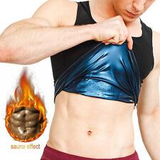 Women Men Sweat Shaper Slimming Polymer Vest Sauna Weight Loss Workout  Tank Top