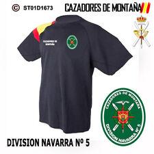 CAMISETAS TECNICAS CAZADORES DE MONTAÑA: DIVISION NAVARRA Nº5 M2