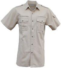 Foxfire Thunder River Gear Short Sleeve Cotton Travel Safari Shirt