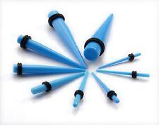 Piercings à l'unité ECARTEUR expander ACRYLIQUE Bleu ciel 1,6mm à 10mm