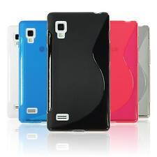 Coque en Silicone LG Optimus L9 - S-Style  + films de protection