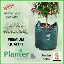 45 litre WOVEN Planter Bags - varying quantities. Plant bags Landscape Grow bag