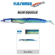 FLASHMER : BLUE EQUILLE DOS BLEU : Le lançon mode texan ! NAGE TRES REALISTE !