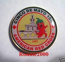 RUNNING CHILI CINCO DE MAYO 10K ROADRACE  American Red Cross pin LAST 6!