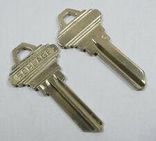 """2-Schlage Original """"C"""" 35-100C Key Blanks 5-Pins"""