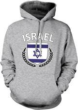 Israel Shield Crest Coat Of Arms Israeli Country Born From ISR Hoodie Sweatshirt