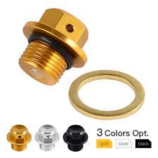 Magnetic Oil Drain Cover Cap For Suzuki GSX-R750 GSX-S750 GSX-R1100 GSX-S1000