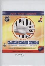2008-09 Enterplay Fan Pak Rock Scissors #G10 Paper Hockey Card