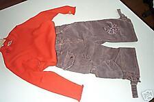3POMMES tolle Cordhose+LA-Shirt Gr. 92 NEU