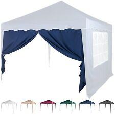 Seitenteil Seitenwand für Pavillon 3x3m Faltpavillon mit Reißverschluss 6 Farben