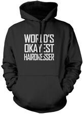 World's Okayest Hairdresser Unisex Hoodie