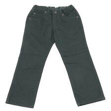 3840U pantalone bimbo ARMANI JEANS JUNIOR cotone verde pant kid boy